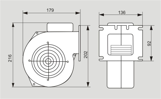 Вентилятор M+M WPA-X2 - 2