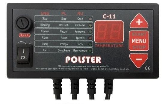 Комплект автоматики Polster C-11 и вентилятор DP-02 - 1