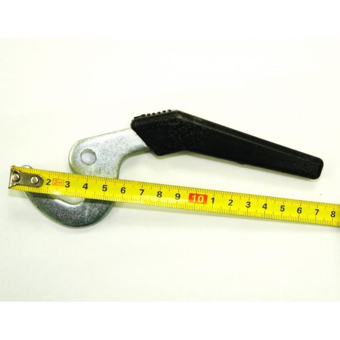 Ручка крючок для твердотопливного котла (длинная) - 1