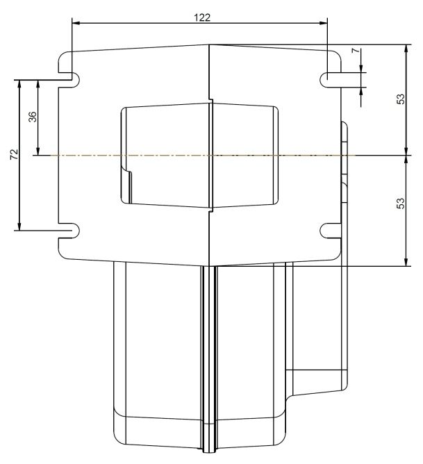 Вентилятор KG Elektronik DP 02 - 1