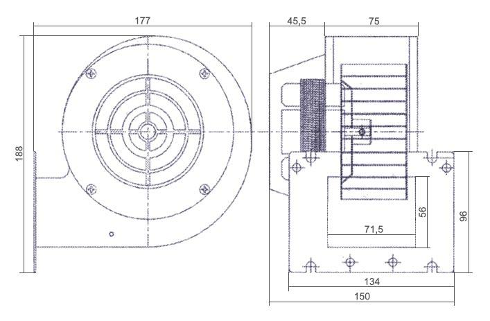 Вентилятор Nowosolar NWS-75 - 3