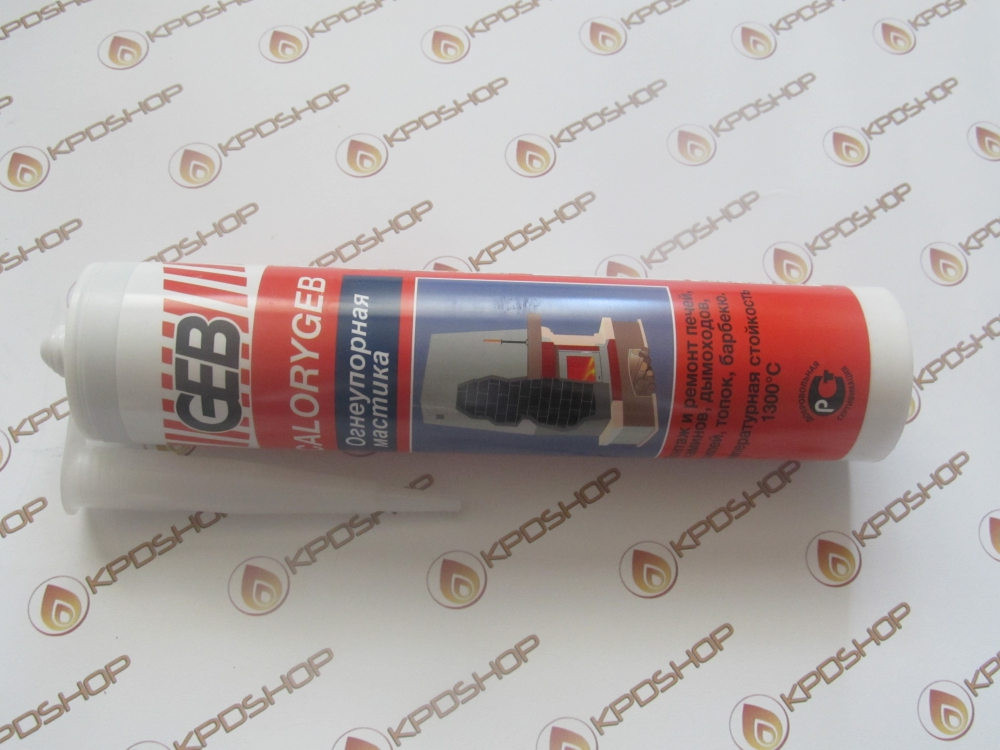Огнеупорная мастика Geb Calorygeb 310 мл - 2