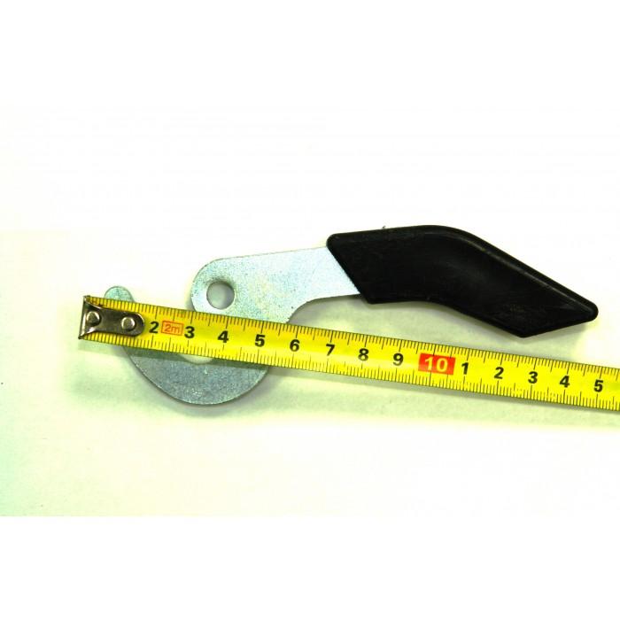 Ручка крючок для твердотопливного котла (короткая) - 1