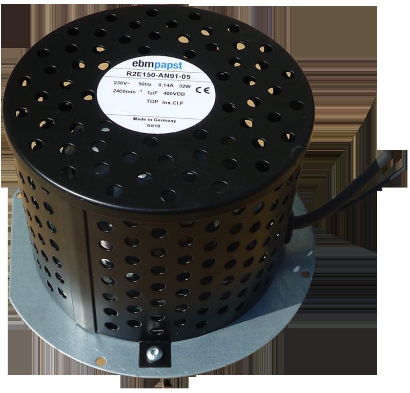 Вентилятор R2E 150 AN 91 вытяжной - 1