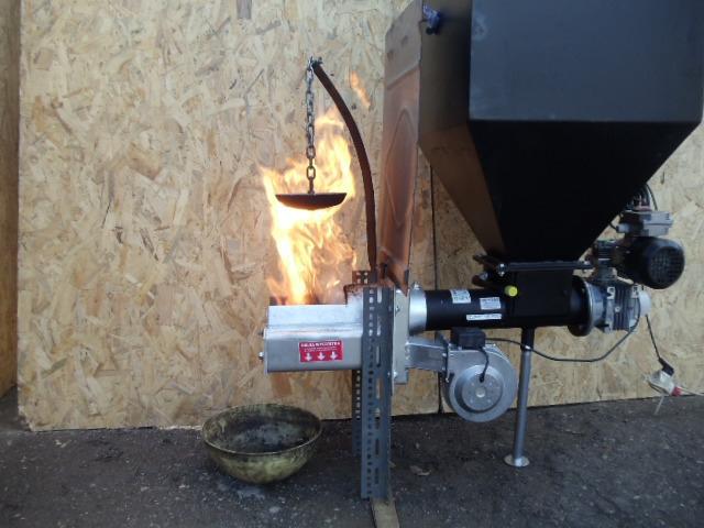 Механизм подачи топлива EKOPAL 12-25 кВт самоочистной - 5